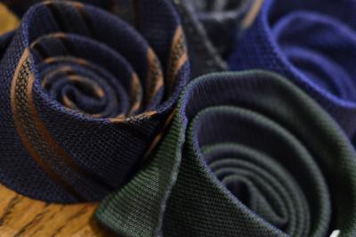 За что мы любим галстуки из шелка-гренадина