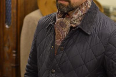 Мужские шарфы: три основных узла