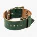 Зеленый ремешок для часов HOOF из кожи Shell Cordovan
