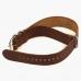 Универсальный коричневый кожаный ремешок для часов HOOF (конструкция NATO)