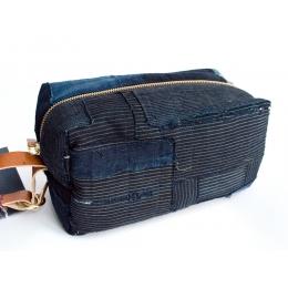 Несессер, сумка для туалетных принадлежностей KIRIKO boro patchwork #3