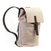 Backpack Incognito 1032 White/Dark Brown