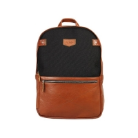 Рюкзак RAY BUTTON Chester Black/Tabac