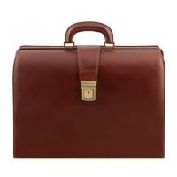 Briefcase Gladstone Bag TUSCANY LEATHER Canova