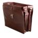 Кожаный портфель-саквояж TUSCANY LEATHER Canova