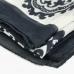 Светлый шейный платок с восточным орнаментом UMBERTO FORNARI