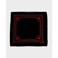 Черная бандана KIRIKO Harvest Black and Red