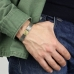 Серебряный браслет с латунной вставкой 1OZ