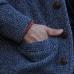Коричневый кожаный плетеный браслет 9 мм 1OZ