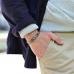Серебряный браслет в стиле Навахо 1OZ