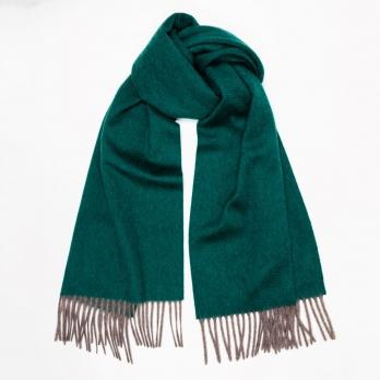 Двусторонний малахитовый кашемировый шарф MA.AL.BI
