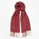 Светло-коралловый кашемировый шарф MA.AL.BI