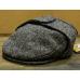 Серая твидовая кепка с ушами HANNA HATS