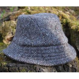 Серая твидовая шляпа Эске HANNA HATS
