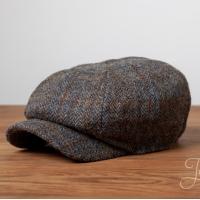 Твидовая кепка-восьмиклинка Келлс №5 HANNA HATS