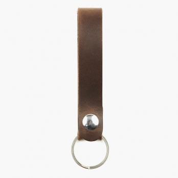 Некрашеный брелок для ключей FOUR-IN-HAND из лошадиной кожи Horween