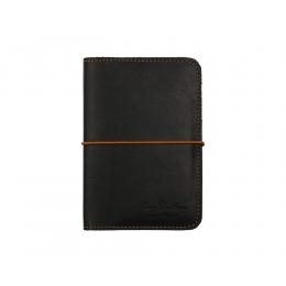 Чёрная обложка для паспорта RAY BUTTON Toronto