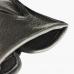Черные перчатки из оленьей кожи без подкладки АКЦЕНТ