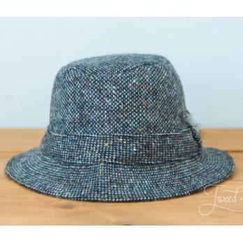 Серая твидовая прогулочная шляпа HANNA HATS