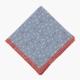 Голубой в горошек льняной платок ELEVENTY