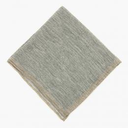 Серый льняной платок ELEVENTY