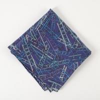 Темно-фиолетовый платок Ladders FOUR-IN-HAND