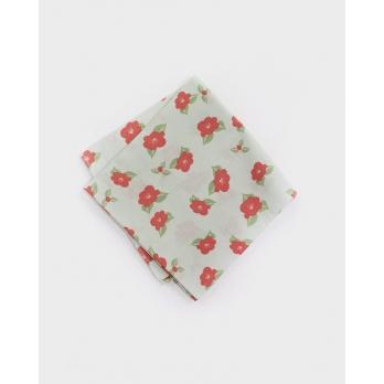 Хлопковый платок KIRIKO Camellia