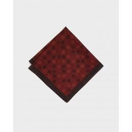 Бордовый платок KIRIKO Marujuji