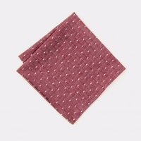Платок KIRIKO Burgundy Selvage Dot
