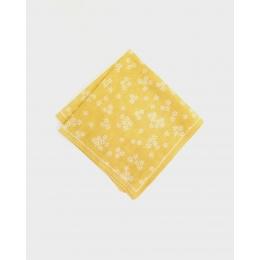 Желтый платок KIRIKO Flowers, Iwanu-Iro