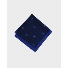 Синий платок KIRIKO Kirin