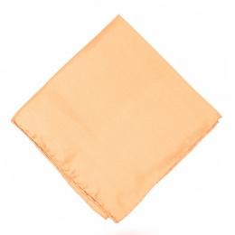 Светло-персиковый шелковый нагрудный платок MICHELSONS