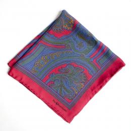 Красный нагрудный платок с узором пейсли Polo Ralph Lauren