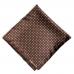 Коричневый нагрудный платок в горошек Polo Ralph Lauren