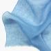 Голубой льняной шарф FOUR-IN-HAND