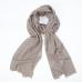Бежевый кашемировый шарф FOUR-IN-HAND
