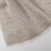 Светлый бежевый кашемировый шарф в ёлочку FOUR-IN-HAND