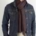 Темно-коричневый кашемировый шарф FOUR-IN-HAND