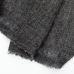 Темно-серый кашемировый шарф FOUR-IN-HAND