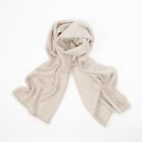 Кашемировый шарф с зигзагообразным узором FOUR-IN-HAND