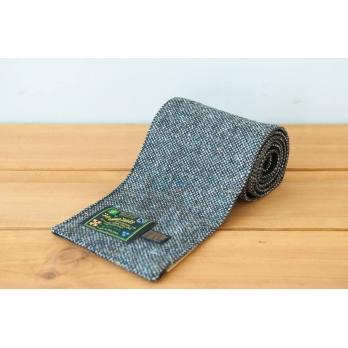Серый твидовый шарф HANNA HATS