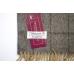Бежевый шерстяной шарф в клетку #531 JOHN HANLY