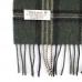 Зеленый клетчатый шарф JOHN HANLY #253