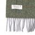 Зеленый клетчатый шарф JOHN HANLY #529