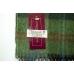 Шерстяной зеленый шарф в клетку #1906 JOHN HANLY