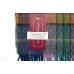 Многоцветный шерстяной шарф в клетку #1992 JOHN HANLY