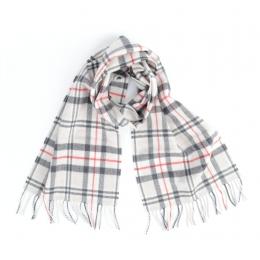 Светлый шарф из мериносовой шерсти JOHN HANLY #116