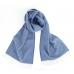 Синий шерстяной шарф JOHN HANLY #518