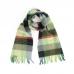 Многоцветный шерстяной шарф в клетку #516 JOHN HANLY