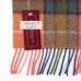 Шерстяной шарф в клетку #1958 JOHN HANLY